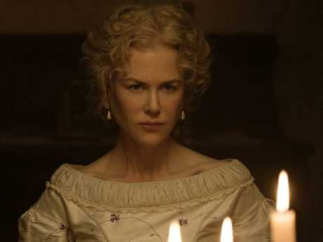 Kidman plays Miss Martha Farnsworth in The Beguiled.