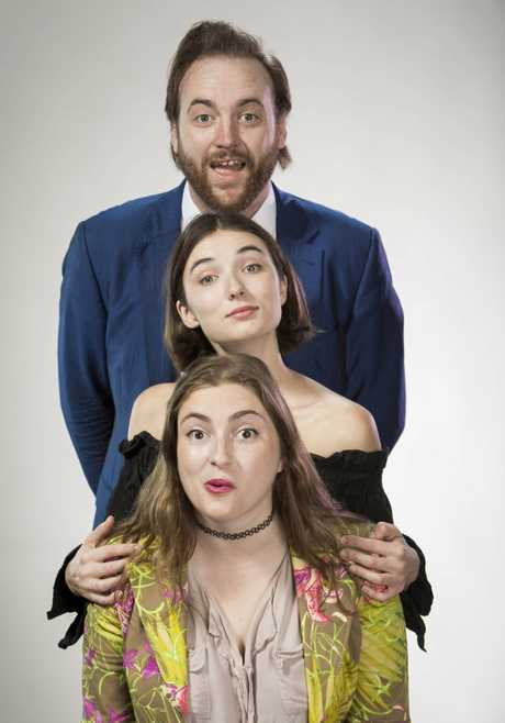 John Conway, Jenna Owen and Victoria Zerbst star in the new TV series John Conway Tonight.