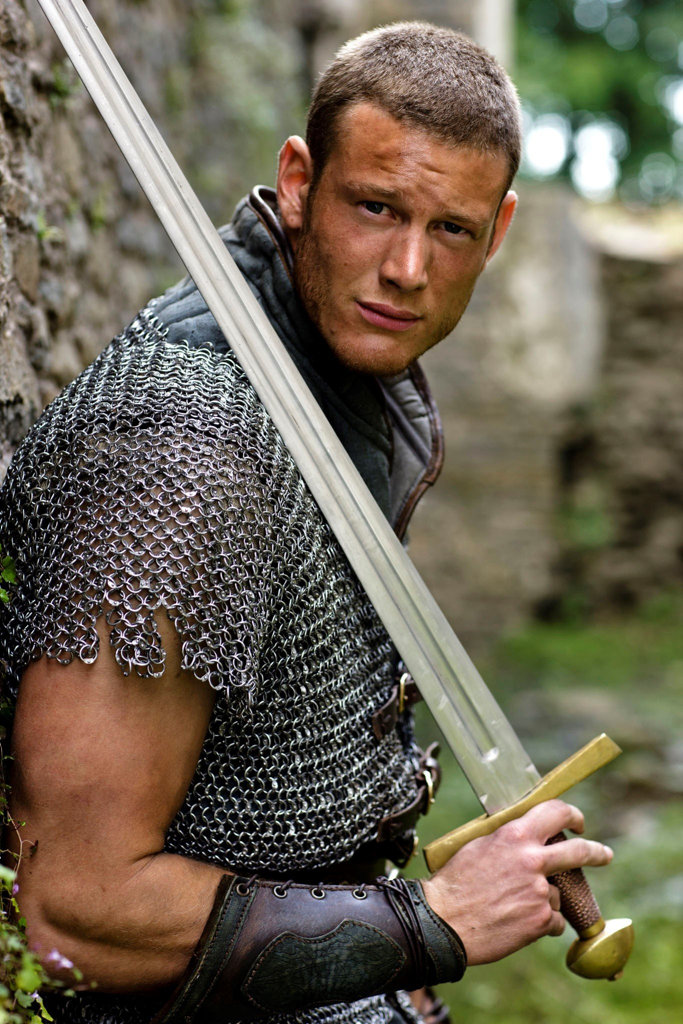 Actor Tom Hopper, pictured in a scene from the TV series Merlin, has landed a role in season seven of Game of Thrones.