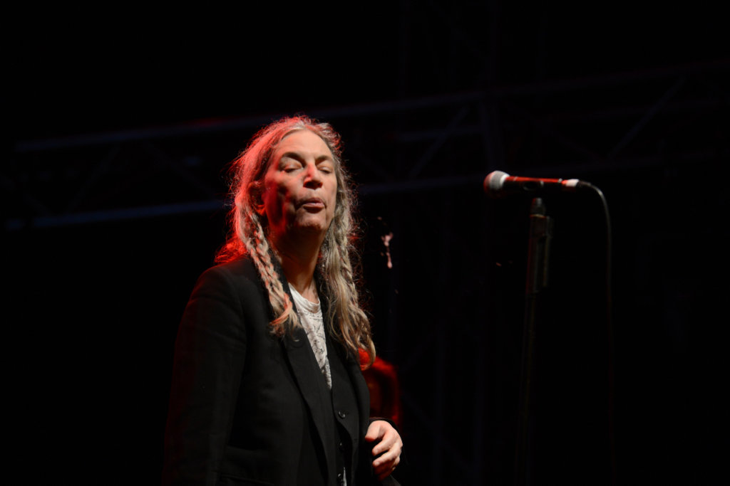 Patti Smith spits the blues at Bluesfest 2017 in Byron Bay.