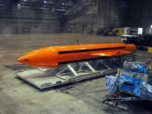 US drops Mother Of All Bombs in Afghanistan