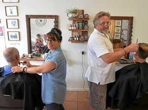 The new town barber where a cut will cost you $20