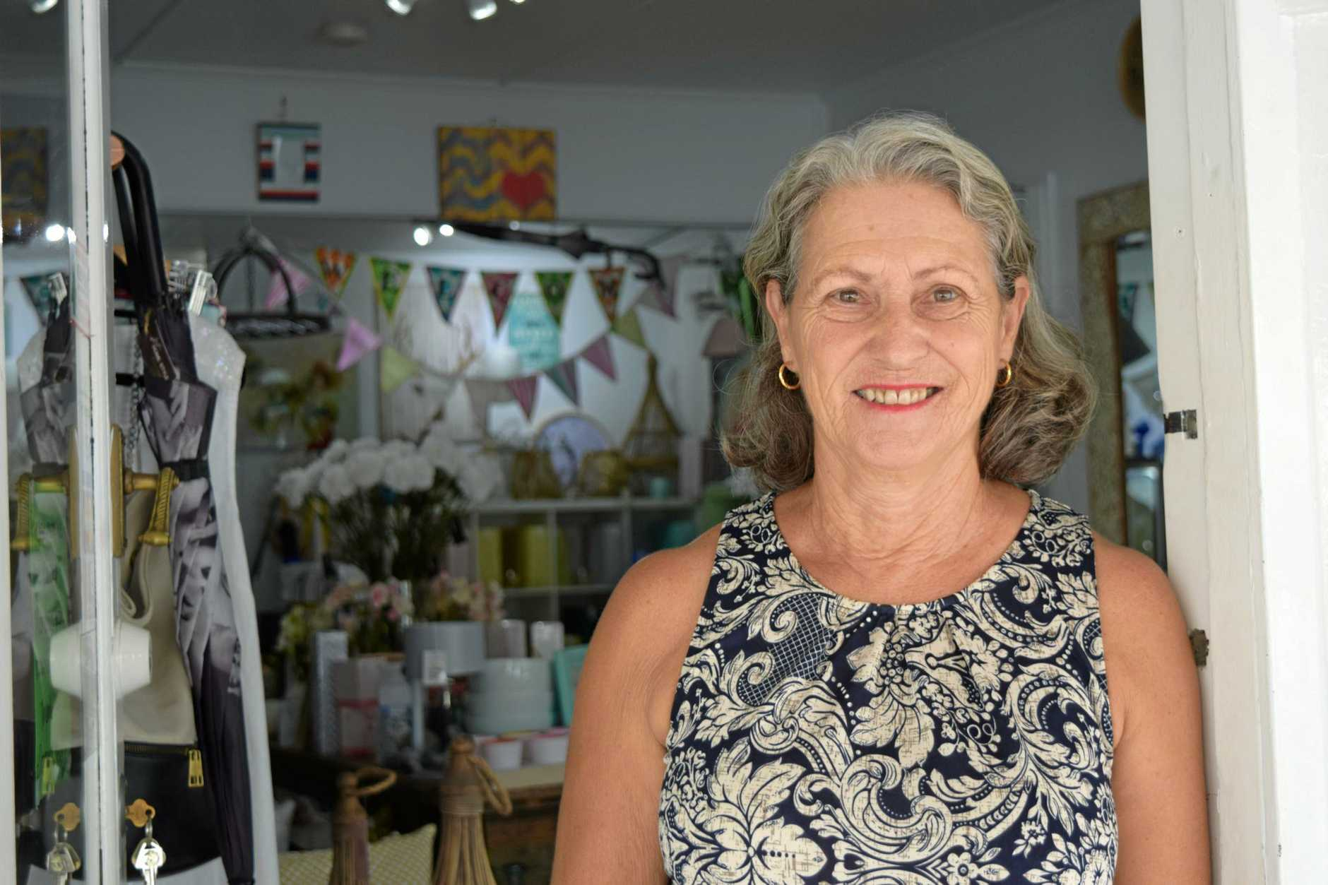 Helen Moore, new owner of Home Style Living. Yandina, March 22, 2017.