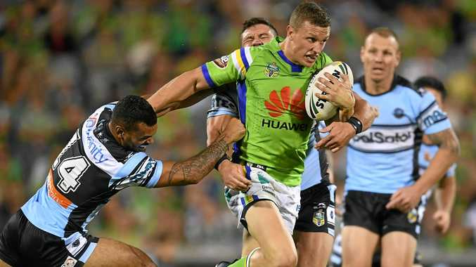 HUNDRED UP: Raiders fullback Jack Wighton is playing his 100th NRL match for the club Saturday - or is he?