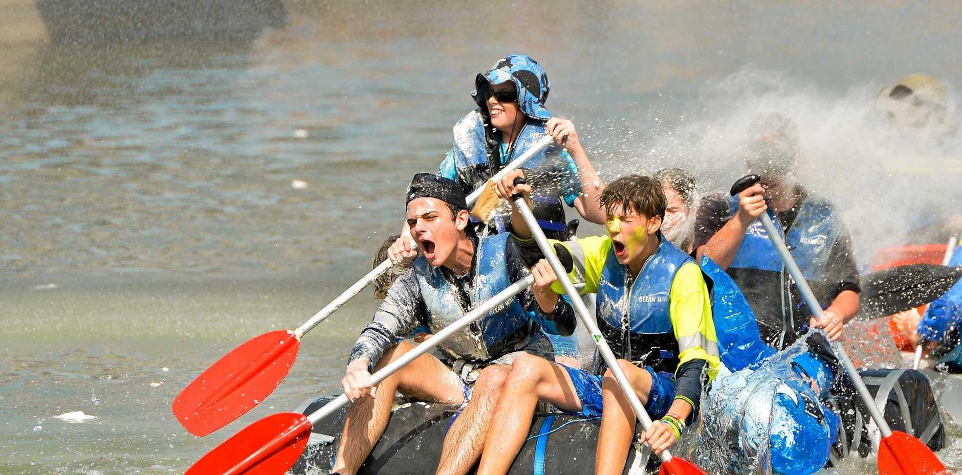 Harbour Festival Great Raft Regatta 2017.