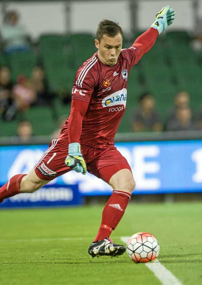 Sydney FC goalkeeper Danny Vukovic.