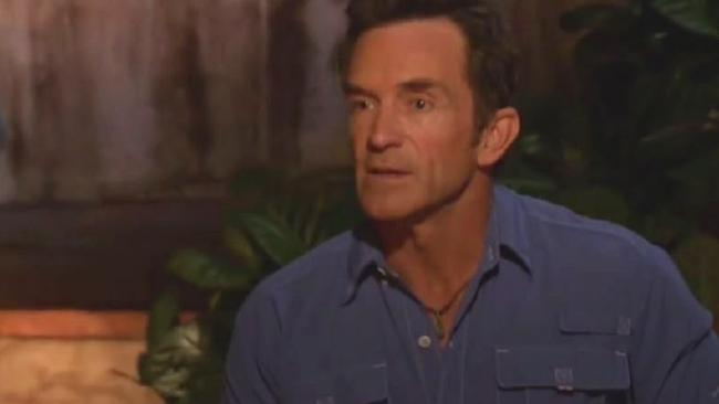 Survivor host Jeff Probst had a big tribal council on his hands this week.