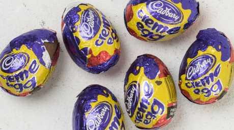 Cadbury Creme Eggs contain a decent amount of kilojoules.