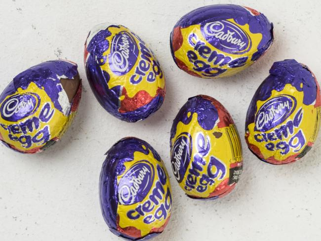 Cadbury Creme Eggs contain a decent amount of kilojoules.