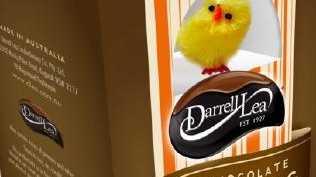 The Dark Chocolate Nougat Easter egg