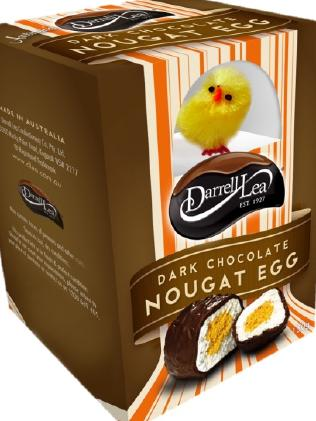 The Dark Chocolate Nougat Easter egg