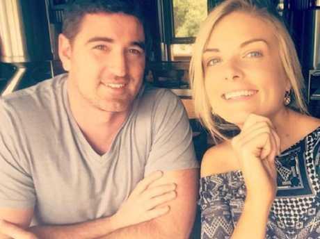 Erin Molan and Sean.