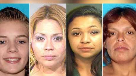 Murder victims: Jarrae Nykkole Estepp, 21, of Oklahoma; Martha Anaya, 28, Santa Ana; Kianna Jackson, 20, of Las Vegas; and Josephine Monique Vargas, 34, of Santa Ana.
