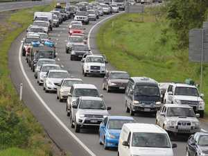 TRAFFIC CHAOS: Bruce Hwy choked by multiple incidents