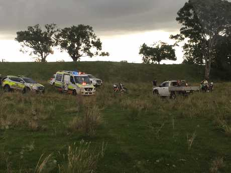 A girl was injured on Friday April 14 and airlifted from this Sunshine Coast hinterland property.