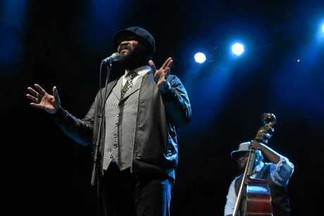 Gregory Porter plays at Bluesfest 2017 in Byron Bay at Tyagarah.