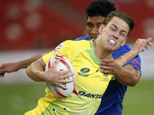 Aussies unbeaten after first day of Singapore Sevens