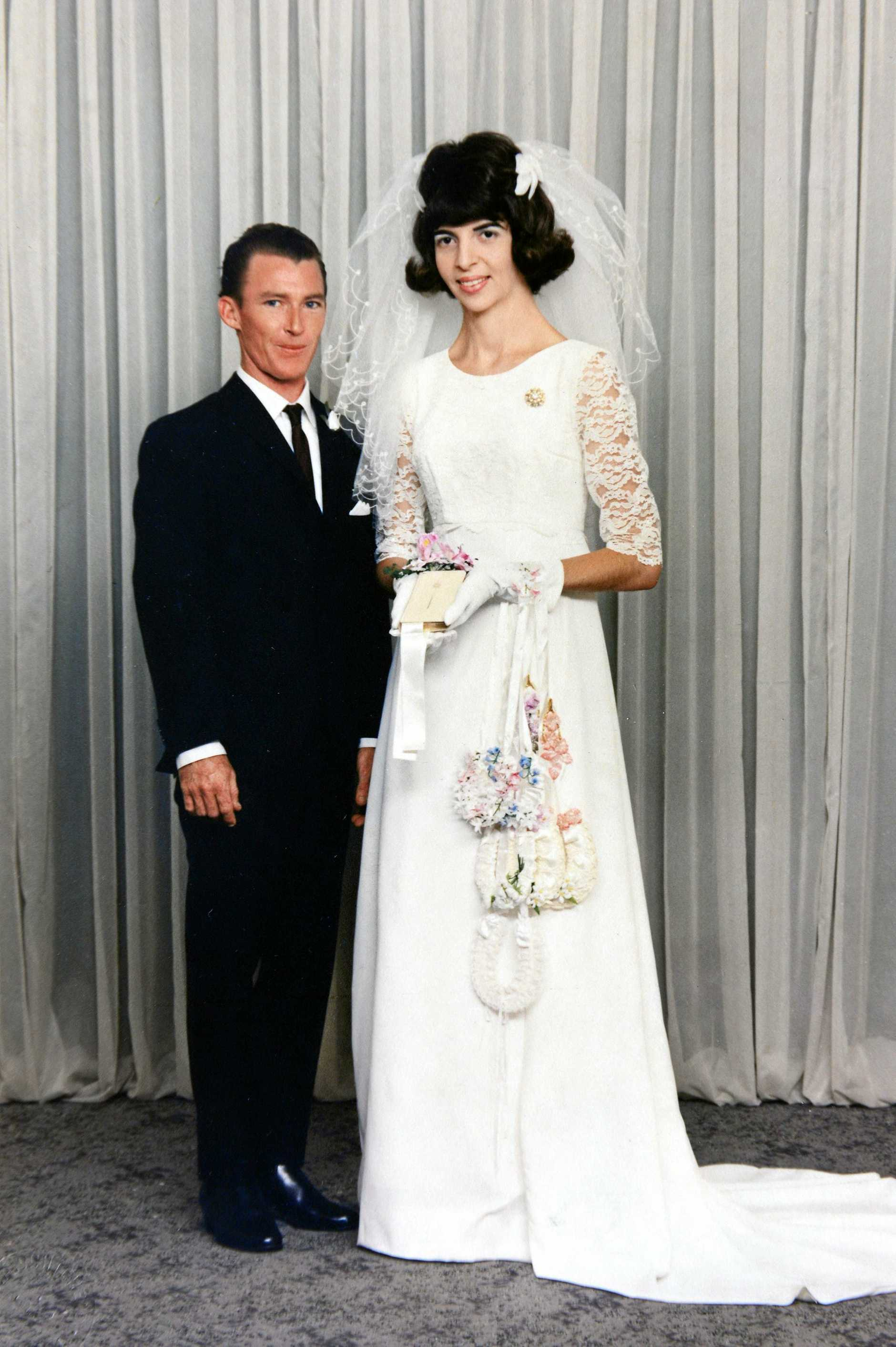 John and Shirley Dickens of Yamanto are celebrating their 50th wedding anniversary.