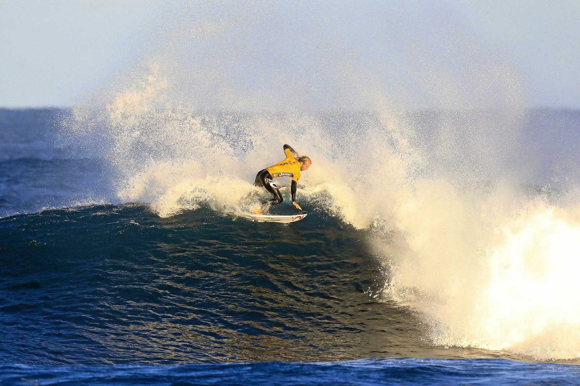 Owen Wright of Australia at the Margaret River Pro earlier this month.