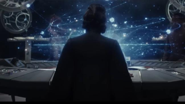 A glimpse Carrier Fisher's final performance in Star Wars: The Last Jedi.