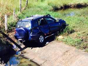 Car crash on the Bruce Hwy near Raglan