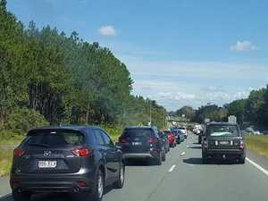 Traffic chaos as Bruce Hwy hit by extensive congestion