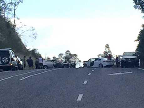 Bruce Highway crash: Fatal four-vehicle collision closes major road near Maryborough
