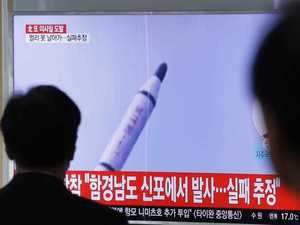 North Korea's missile launch fail