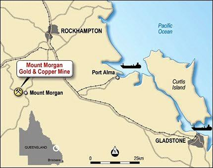 The Mount Morgan Gold - Copper Mine is expected to create opportunities for 180 jobs in the historic town and surrounds.