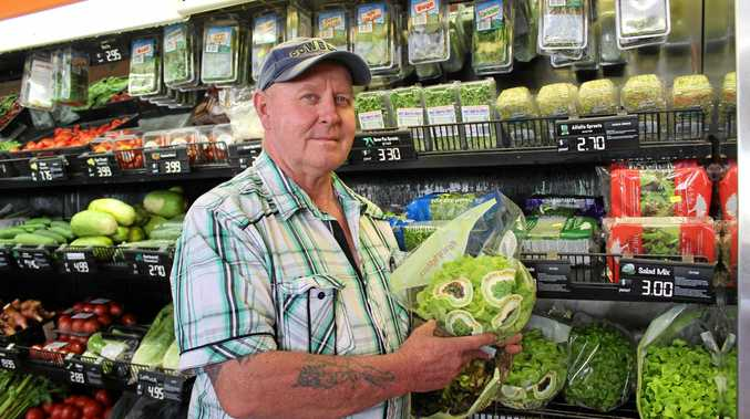 Hal's Fruit World lessee Mark Watson is afraid he won't be able to compete against major supermarkets when wholesale produce prices increase.