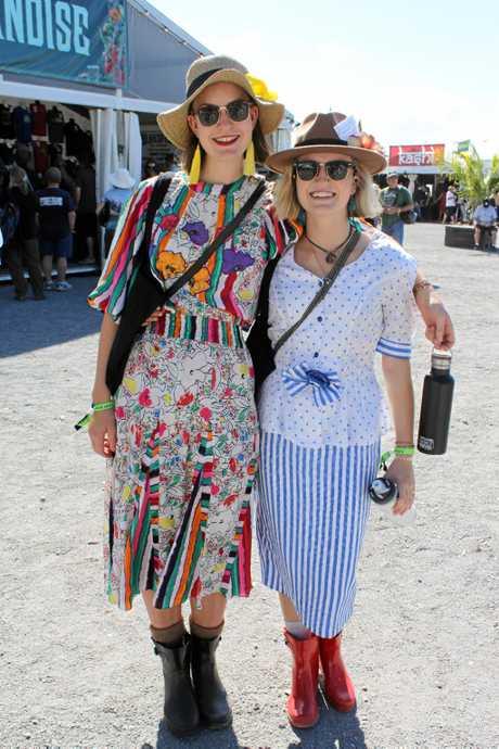 BluesFest fashion on Saturday.
