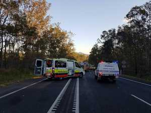 Bruce Highway closed for more than six hours after crash