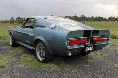 Tim's 1967 GT500 Shelby Mustang fastback is fitted with an Eleanor body-kit.