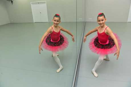 TALENTED PERFORMER: Dancer Chloe ONeill has been selected to be in an intensive program with the English National Ballet.