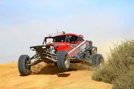 FAST AND FURIOUS: Michael Marson will be attending the national offroad series with his Mackay teammates next weekend.