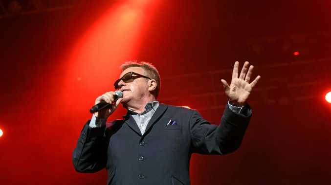HOUSE OF FUN: Suggs and Madness staged a hugely entertaining show on Sunday.