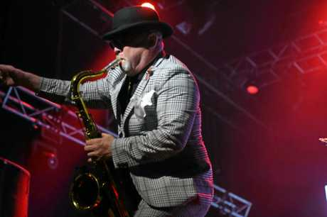 Fans absolutely loved Madness' performance at the Mojo stage on Sunday.