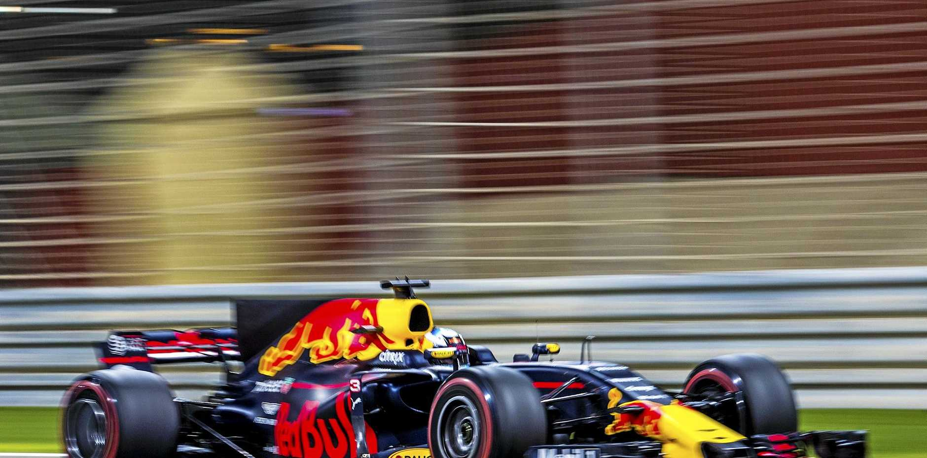 ENCOURAGED: Australian driver Daniel Ricciardo was impressed by how his Red Bull car went in the Bahrain GP.