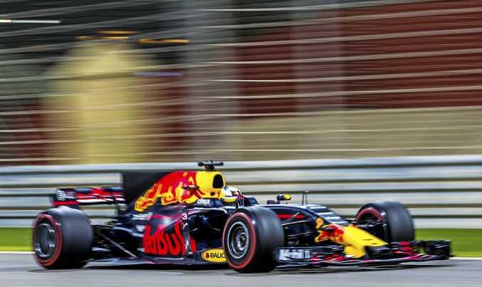 ENCOURAGED: Australian driver Daniel Ricciardo was impressed by how his Red Bull car went in the Bahrain GP.