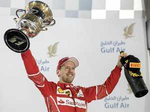 Vettel's win boosts Ferrari's confidence
