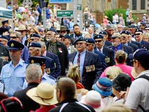 Anzac Day services and marches in Ipswich