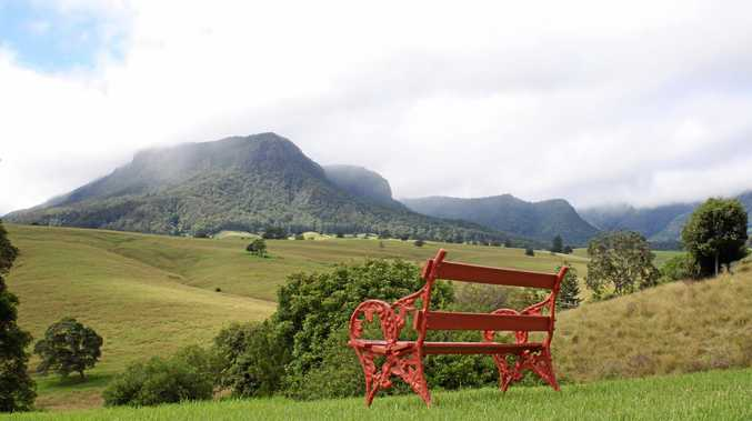 PEACEFUL: The Lost World is in the heart of the Scenic Rim, near the border of New South Wales and Queensland.