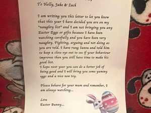 Why mum decided Easter Bunny shouldn't visit her 'naughty' kids