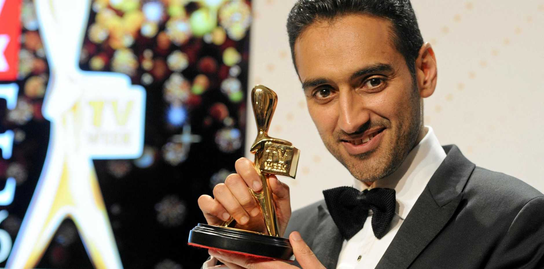 Gold Logie winner Waleed Aly after the 2016 Logie Awards.
