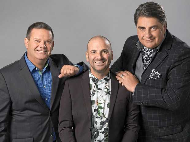 MasterChef Australia judges Gary Mehigan, George Calombaris and Matt Preston.
