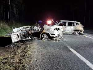 Highway reopens after double fatality near Tiaro