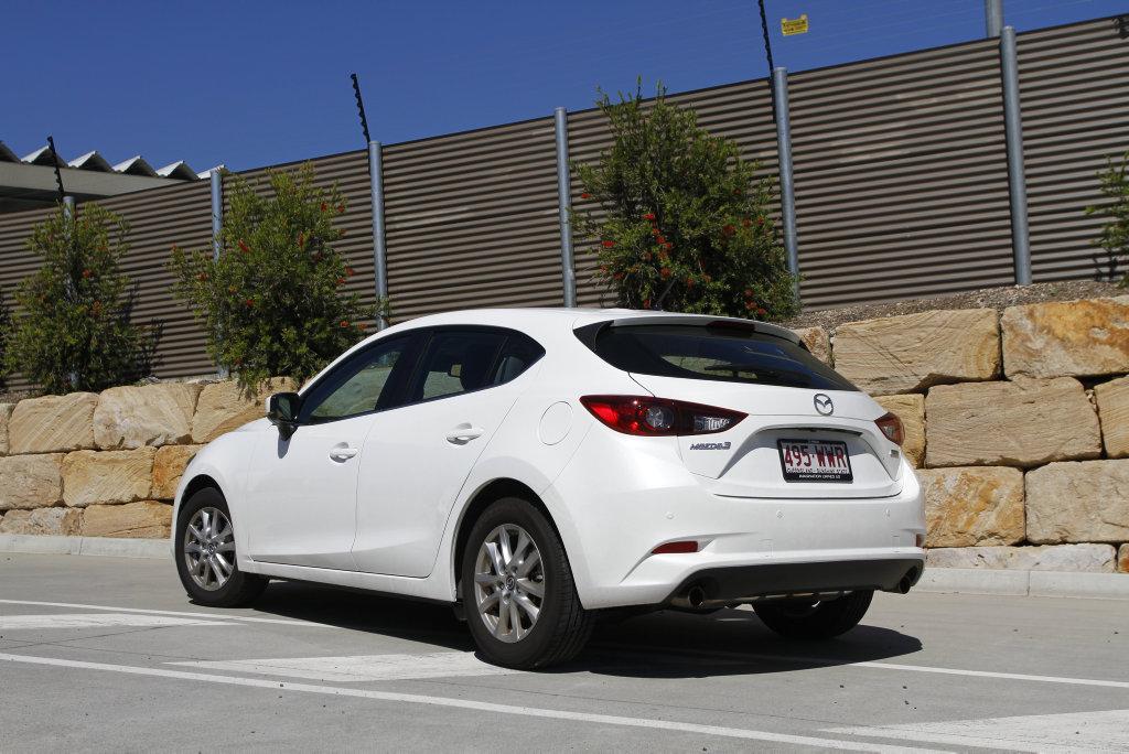 2017 Mazda3 Touring hatchback long term test car