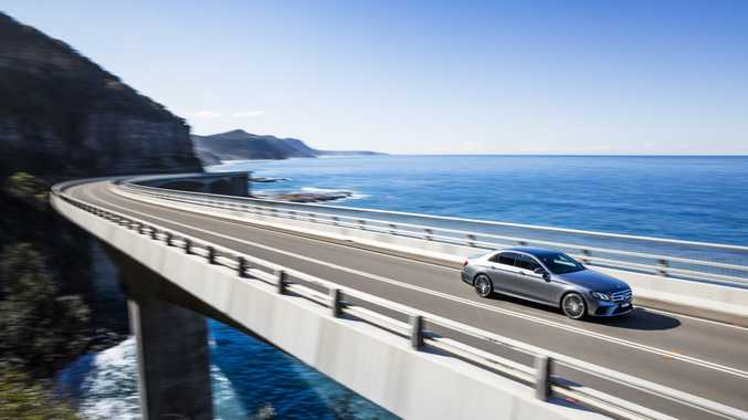 The Mercedes-Benz E-Class is full of technological wizardry.