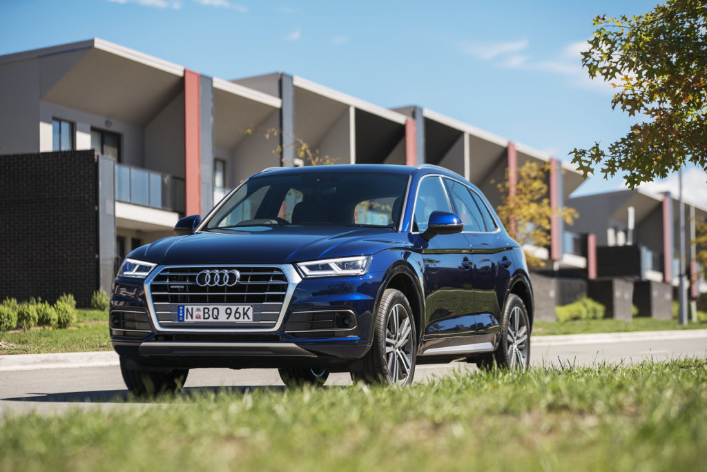 JUNE ARRIVAL: Audi's all-new Q5 mid-size SUV hopes to reclaim the mantle as the most popular prestige offering in the segment.