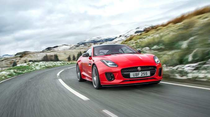 DROPPING CYLINDERS: By year's end Jaguar will offer its F-Type Coupe and Convertible with a new turbocharged four-cylinder engine, offering 221kW and 400Nm and a 0-100kmh time of 5.7-seconds. The new entry-level cars will start from $107,300 before on-road costs.